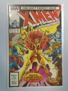 One Shot Parody Issue XMen #1 7.0 FN VF (1986 Miller)