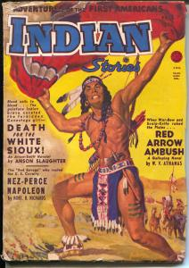 Indian Stories #2 Fall 1950-Alan Anderson-Chief Joseph-Nez Perce-VG-