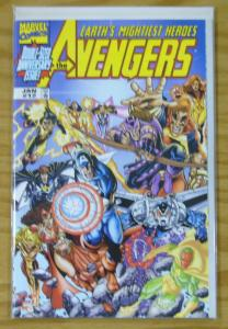Avengers vol. 3 #12 VF/NM george perez variant w/dynamic forces COA (#445/5,000)