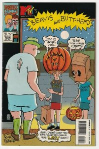 Beavis And Butthead #10 December 1994 Marvel MTV Mike Judge