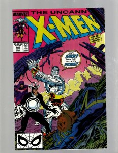 Uncanny X-Men # 248 NM Marvel Comic Book Jim Lee Cyclops Storm Wolverine JH6