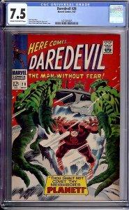 Daredevil #28 (Marvel, 1967) CGC 7.5