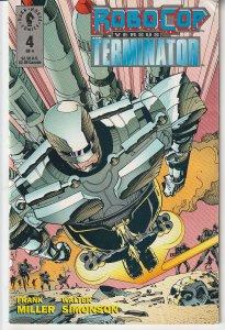 Robocop vs Terminator(Dark Horse) # 4  In the Vein of Alien vs Predator !