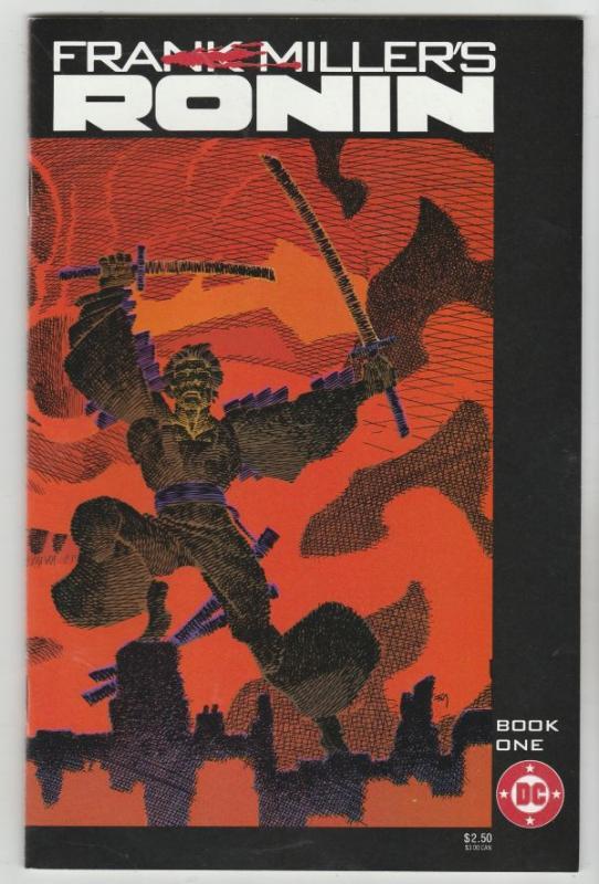Frank Miller's Ronin Set #1to4 (Jul-83) NM Super-High-Grade Ronin