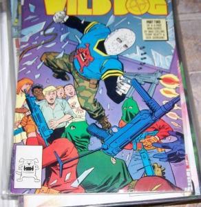 wild Dog comic  #2 (Oct 1987, DC) ON TV,S ARROW SHOW HOT
