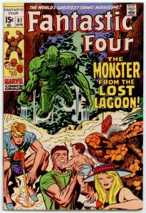 Fantastic Four #97 VF+ 8.5  Monster from the Lost Lagoon