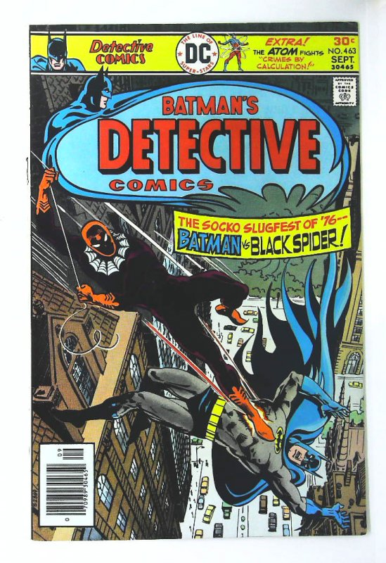 Detective Comics (1937 series) #463, VF+ (Actual scan)
