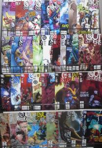 OUTSIDERS (DC 2003) 33 issue lot! Judd Winick! Tom Raney! Nightwing! Arsenal! VF