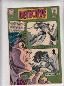Detective Comics #379 (Sep-68) VG Affordable-Grade Batman, Robin the Boy Wonder