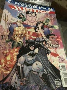 DC Rebirth Justice League #1 Mint Hot