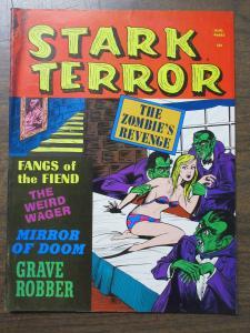 Stark Terror v1 #5 August 1971 VG Condition Horror B&W Magazine in EC-like Style