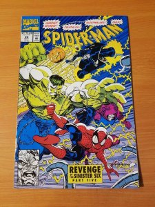 Spider-Man #22 Direct Market Edition ~ NEAR MINT NM ~ (1992, Marvel Comics)