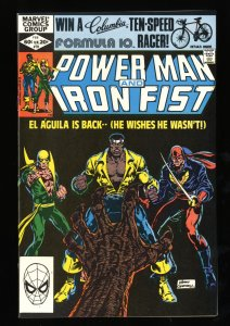 Power Man and Iron Fist #78 VF+ 8.5 3rd Sabretooth!