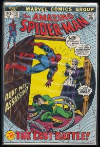 Marvel the Amazing Spiderman #115 The Last Battle ~ FN/VF (RU005)