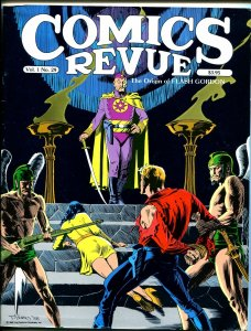 Comics Revue #29-Flash Gordon origin-Modesty Blaise-Bloom CountyTom Yeates-VF