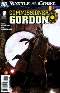 Batman: Battle for the Cowl: Commissioner Gordon #1 VF; DC   save on shipping -