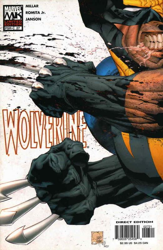 Wolverine (Vol. 3) #27A VF/NM; Marvel | save on shipping - details inside