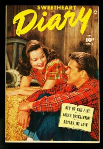 Sweetheart Diary #8 1951-Photo cover-Fawcett Romance- VG/FN