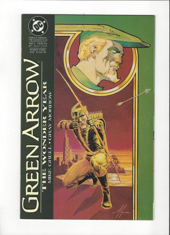 Green Arrow:The Wonder Years #1  Mike Grell NM Nice Copy
