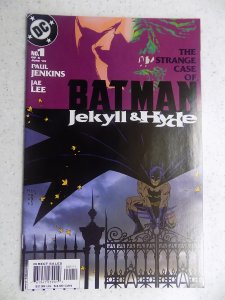 BATMAN JEKYLL & HYDE # 1