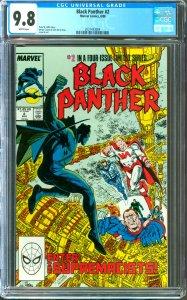Black Panther #2 CGC Graded 9.8
