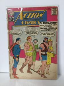 Action Comics 279 1.0 Fair Extra Staple Cover Detached DC Comics SA