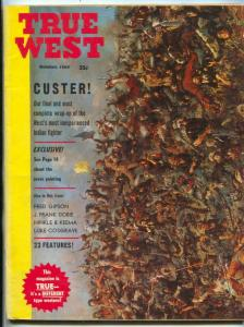 True West Magazine October 1963- Custer's Last Stand