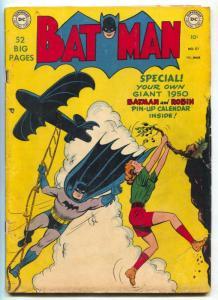 Batman #57 1950-Joker  appears- DC golden age VG-