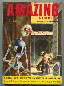 Amazing Stories August 1953- Philip K Dick- Kuttner