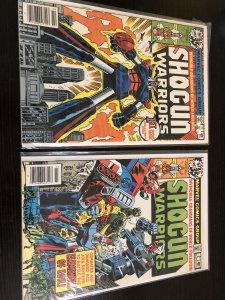 Shogun Warriors #1 & #2 NEWSSTAND ISSUES VF