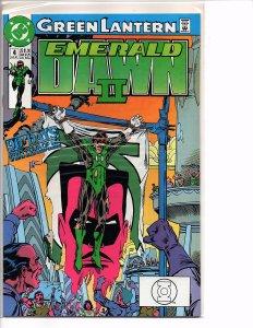 DC Comics Green Lantern EMERALD DAWN II  #4 Keith Giffen (story); Gerard Jones