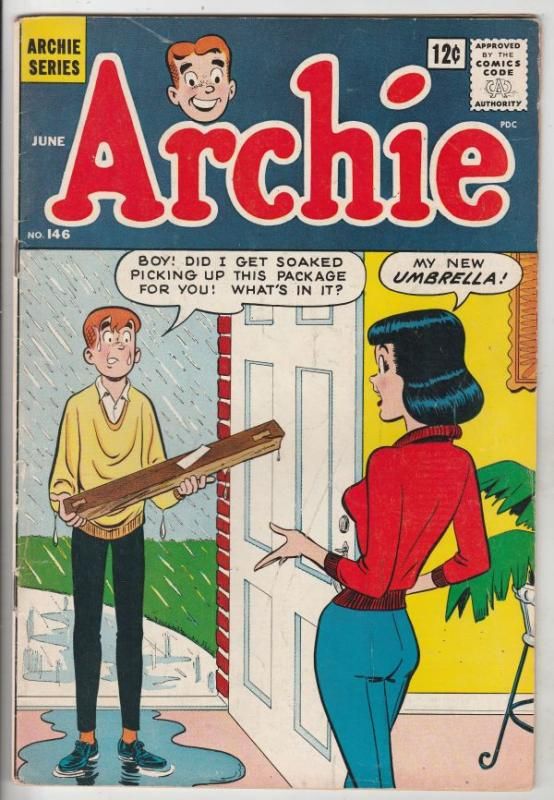 Archie #146 (Jun-64) FN/VF Mid-High-Grade Archie