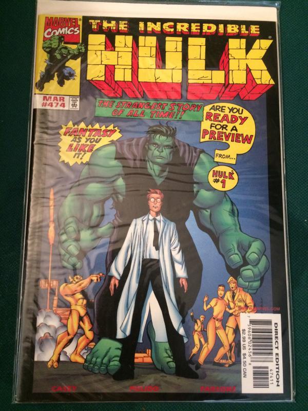 The Incredible Hulk #474