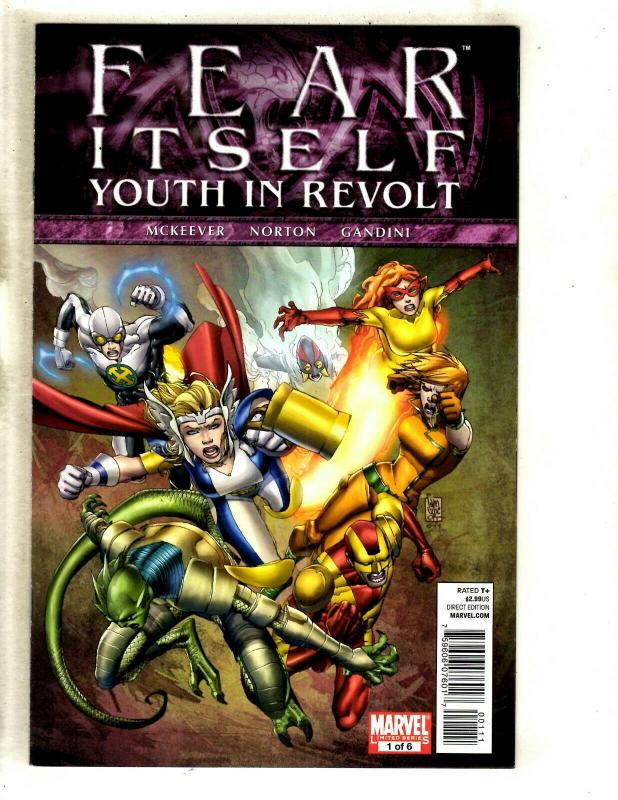 Fear Itself Youth in Revolt #3 Marvel VF//NM Comics Book