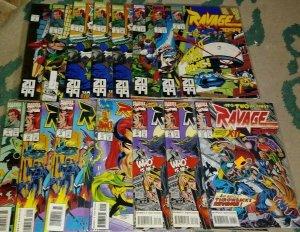 RAVAGE 2099  # 1 2 3 4 5 6 7 12 15 16 17+ 1996 marvel