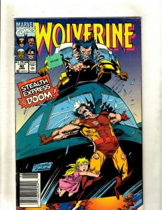Lot of 12 Wolverine Marvel Comics #40 45 48 49 50 51 52 53 54 55 56 57 J369