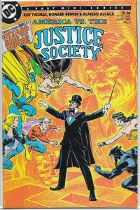 America vs. the Justice Society   #3 of 4 FN