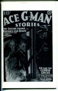 Ace G-Man Stories 1960's-Reprint of  Suicide Squad Reports For Death -pulp-VF