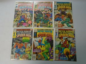 Spectacular Spider-Man lot 17 35c covers from #12-29 avg 5.0 VG FN (1977-79)