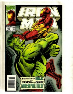 Iron Man # 305 NM Marvel Comic Book Avengers Hulk Thor Captain America J462