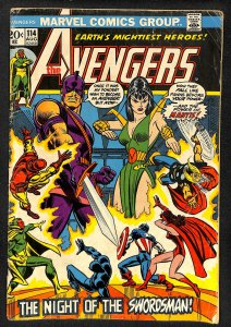 The Avengers #114 (1973)