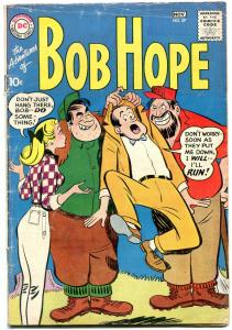 Adventures of Bob Hope #59 1959- Good Girl art- DC Silver Age VG