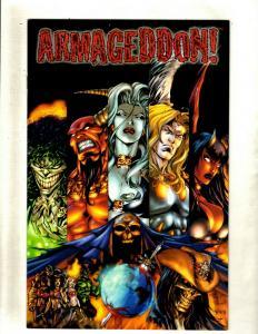 Lot of 10 Comics Armageddon! 1 2 3 4 Evil Ernie 1 2 3 War of the Dead 1 2 3 HY3