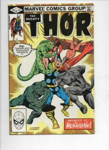 THOR #321 VF+ God of Thunder Menagerie 1966 1982, more Thor in store