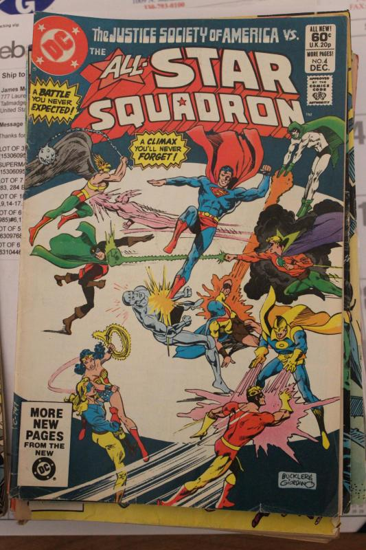All Star Squadron  #4 FN-