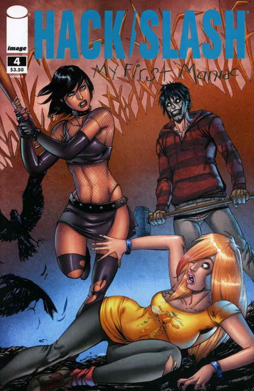 Hack/Slash: My First Maniac #4A VF; Image | save on shipping - details inside