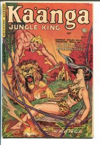 Kaanga #11 1952-Fiction House-jungle fights-Camilla-Canadian variant-VG