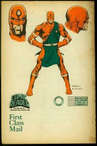 The Comic Reader Fanzine #142 1977- Hawkman G
