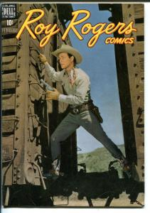 Roy Rogers  #16 1949-Dell-movie photo covers-western comic-Dale Evans -VF
