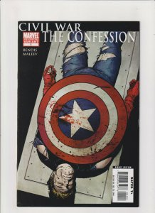 Civil War: The Confession #1 FN 6.0 2nd Print Marvel Captain America Iron Man